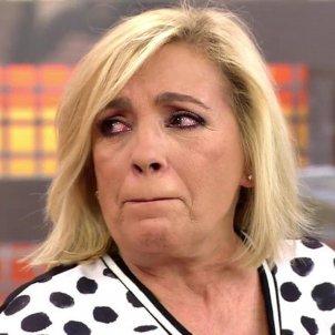 Carmen Borrego plora Telecinco