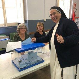 sor lucia caram vota @sorluciacaram