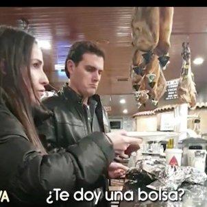 Albert Rivera Malú bar carretera quiere bolsa Telecinco