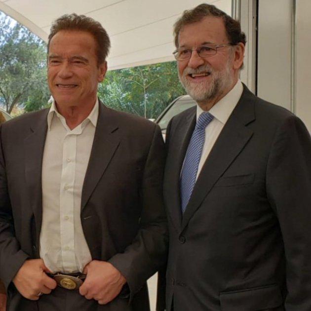 Rajoy Arnold Schwarzenegger @vicentefoxque