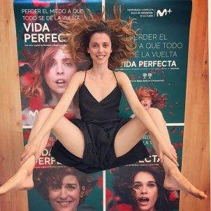 Leticia Dolera postura ioga @leticiadoleraoficial
