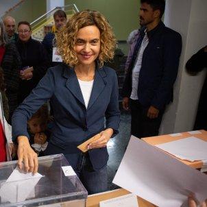 Meritxell Batet vota Europa Press