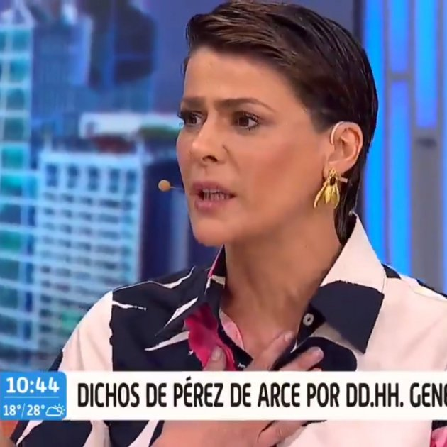 Tonka Tomicic presentadora xilena Trece