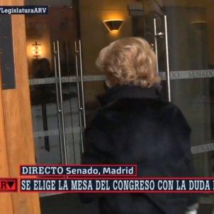 Esperanza Aguirre porta Senat La Sexta