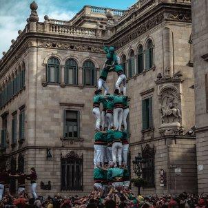 Castellers Barcelona Europa Press
