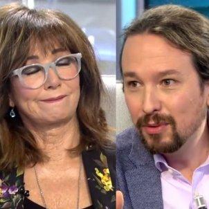 Ana Rosa Pablo Iglesias Telecinco