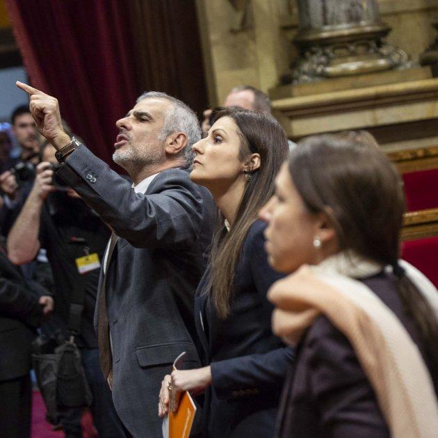 Ciutadans Carrizosa Roldan Ple Parlament - Sergi Alcazar