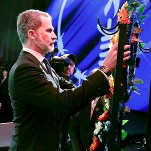 rei felip corona flors forum mundial holocaust efe