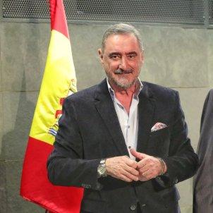 Carlos Herrera Mariano Rajoy bandera espanyola Europa Press