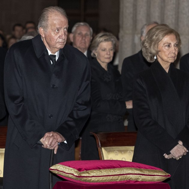 joan carles sofia funeral pilar borbo efe