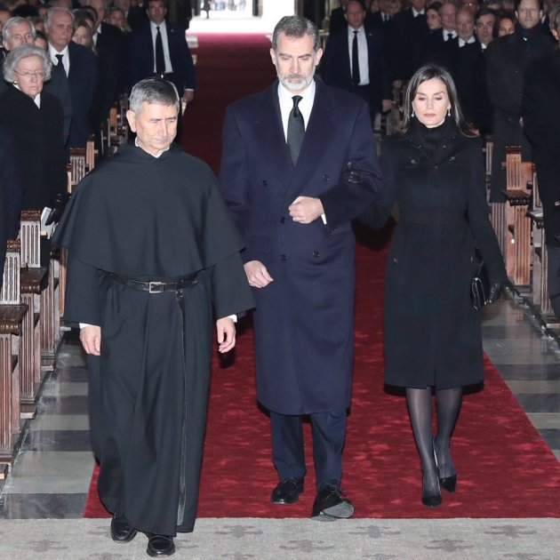 felip leticia funeral infanta pilar borbo casa real twitter
