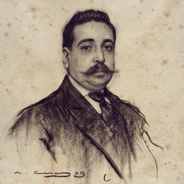 Amadeu Hurtado per Ramon Casas MNAC