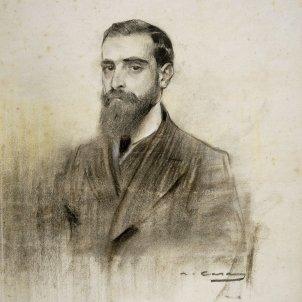 Francesc Cambó per Ramon Casas MNAC