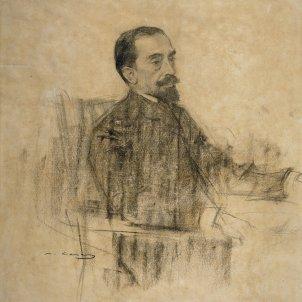 Joan Maragall per Ramon Casas