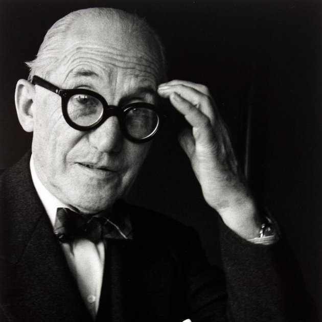 Gisäle Freund Le Corbusier Paris 1961 ∏ Centre Pompidou Guy Carrad