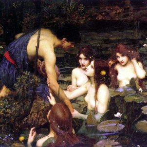 Waterhouse Hylas and the Nymphs Manchester Art Gallery 1896.15