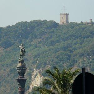 Monument a Colom i castell de Montjuïc pere lopez wikipedia