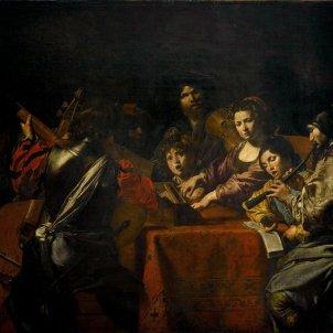 Valentin de Boulogne The Concert  (ca. 1630)