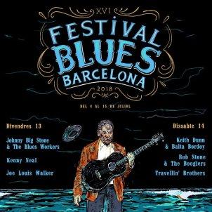 Cartell festival Blues Barcelona