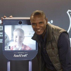 Robot Pol/Éric Abidal Foundation