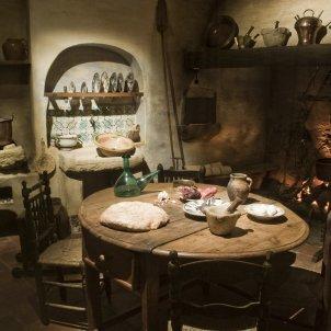 Museu de la Vida Rural menjador UCF7233 Fundació Carulla