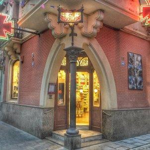 Farmacia Ruscalleda. Museu al carrer MNACTEC Jaume Aguilera