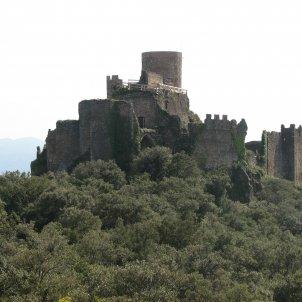 Castell de Montsoriu vist des de la Torre de les Bruixes Joan 301009 wikipedia