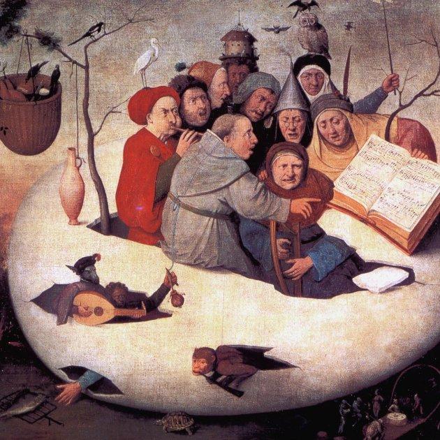 El concert dins de l'ou (Hieronymus Bosch)