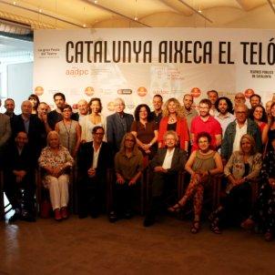 Catalunya aixeca el teló/ACN