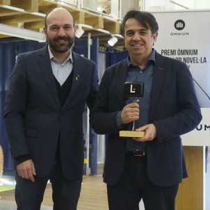 FOTO Premi Omnium a la Millor No vel·la 2019   Martí DOmínguez