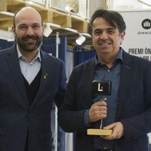 Martí Domínguez, Premi Òmnium