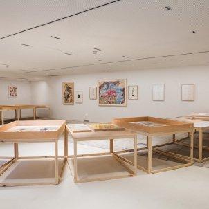 Vista de l'exposició La màdium i el poeta/Fundació Joan Brossa