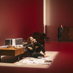 'El cuadern daurat' Teatre lliure Sílvia Poch