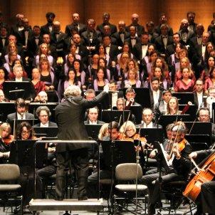 'Resurreccio' Orquesta i cor Licei i Orfeo Català ACN