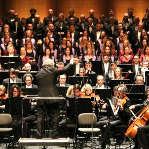 Concert Orquestra Simfònica Cor Liceu Orfeó Català - ACN