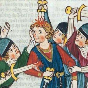Gravat medieval. El virus i els dies