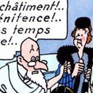 Fin du monde Tintin