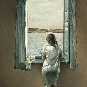 Noia a la finestra Salvador Dalí