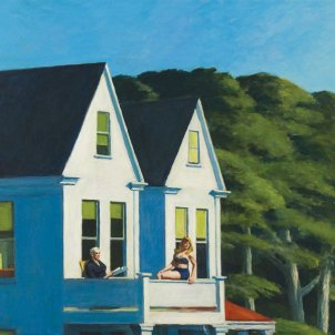 Second Story Sunlight Edward Hopper 1960