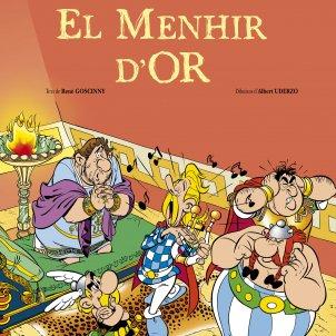 Coberta Menhir d'or Astèrix Ed. Salvat