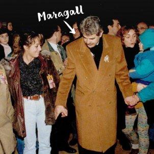 'Maragall i la lluna' ACN