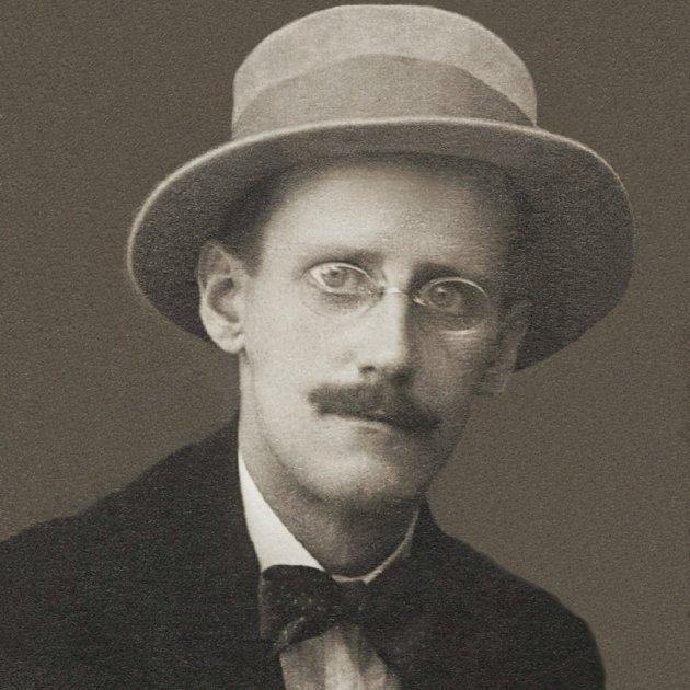 James Joyce by Alex Ehrenzweig, 1915 wikipedia