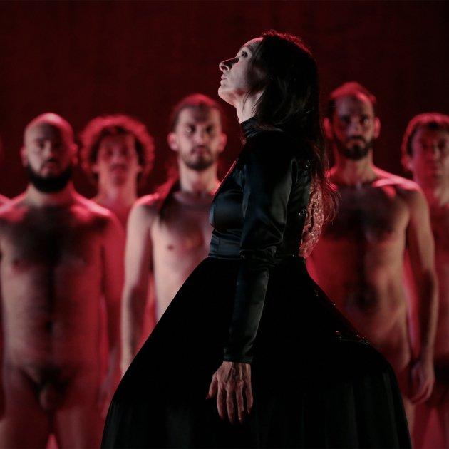 Espectacle 'La lletra escarlata' d'Angélica Liddell/ACN