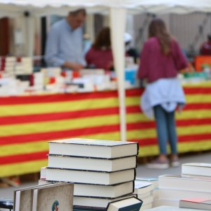 Para de llibres Sant Jordi 2018 ACN