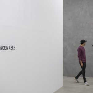 ignasi Aballí Sense Imatge/Roberto Ruiz