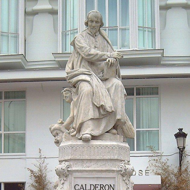 Monumento a Calderón de la Barca (Madrid) 01
