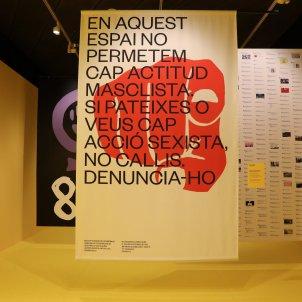 Exposició Feminista havies de ser/Palau Robert