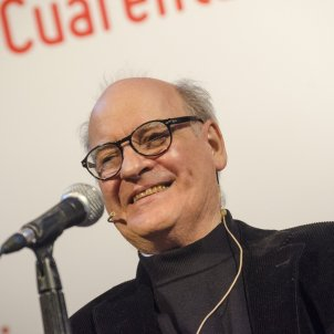 Quino en la inauguración de la 40ª Feria Internacional del Libro de Buenos Aires