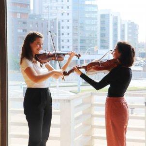 Maria Florea i Sara Ferrández ACN