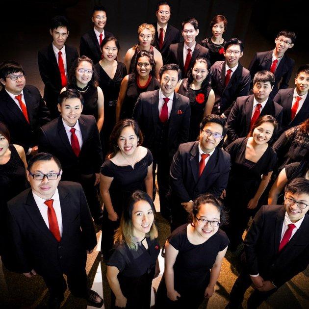 grup Raffles Singers